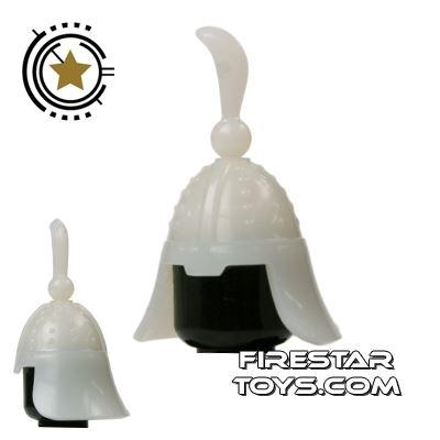 BrickTW - Ching Dynasty Helmet - White Jade