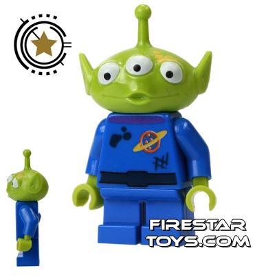 LEGO Toy Story Mini Figure - Alien - Dirt Pattern