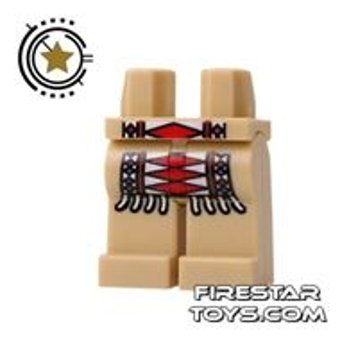 LEGO Mini Figure Legs - Tribal