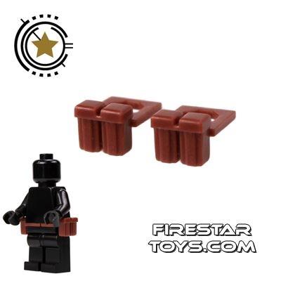 BrickForge - Ammo Pouch Brown - Pair