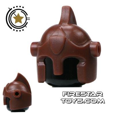 BrickForge - Battle Helmet - Brown