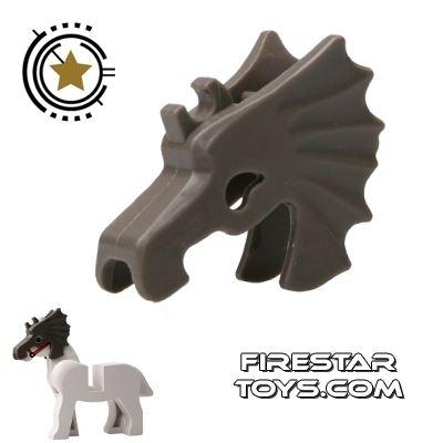 LEGO - Horse Battle Helmet - Dark Gray