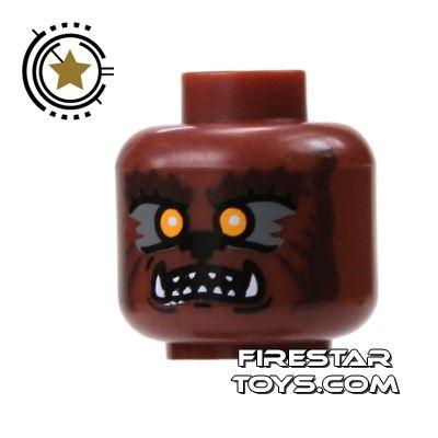 LEGO Mini Figure Heads - Werewolf