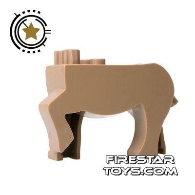 BrickForge Animals Mini Figure - Dark Tan Centaur
