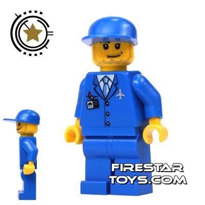 LEGO City Mini Figure - Shuttle Ground Crew Member