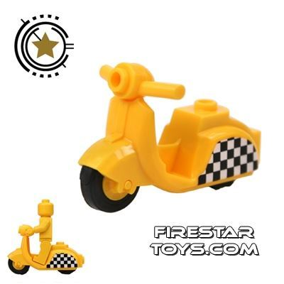 BrickForge - Yellow Scooter