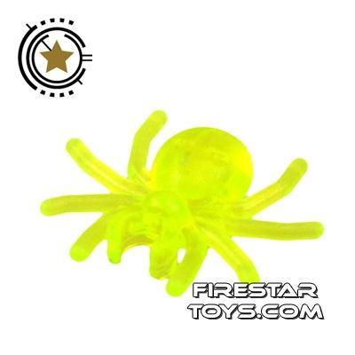 LEGO Mini Figure - Spider - Transparent Neon Green