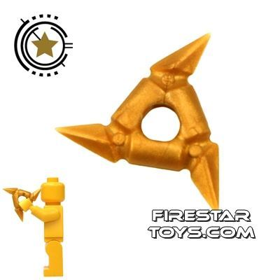 LEGO - Throwing Star - Pearl Gold