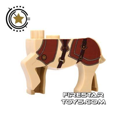 BrickForge Animals Mini Figure - Centaur - Saddle Pattern