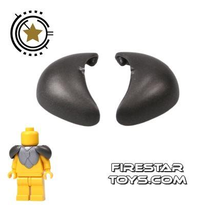 BrickForge - Round Pauldrons - Steel - Pair