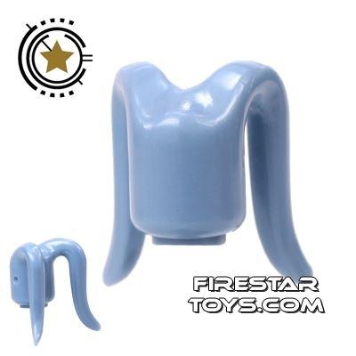 Arealight Mini Figure Heads - Sand Blue - Plain