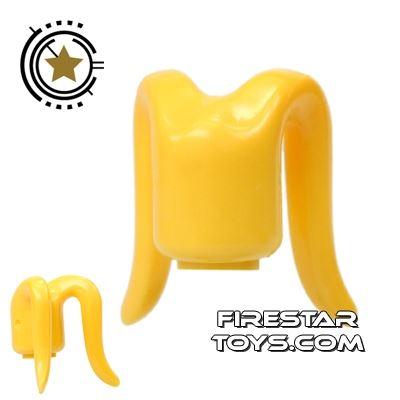 Arealight Mini Figure Heads - Monochrome Yellow - Plain