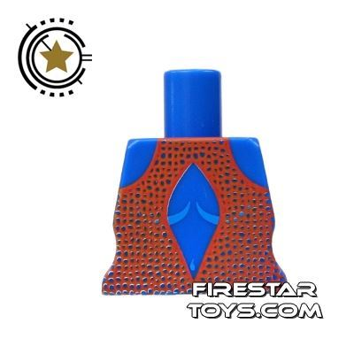Arealight Mini Figure Torso - Orange Dress