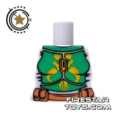 Arealight Mini Figure Torso - Battle Suit - Green