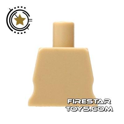 Arealight Mini Figure Torso - Plain - Tan