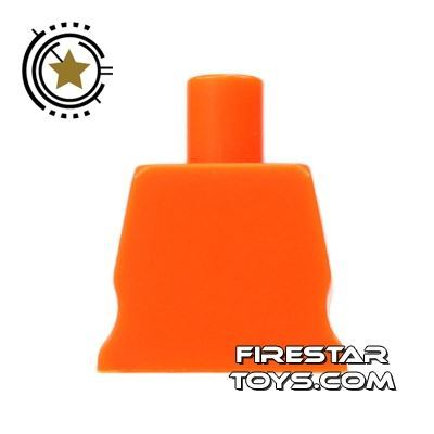 Arealight Mini Figure Torso - Plain - Orange
