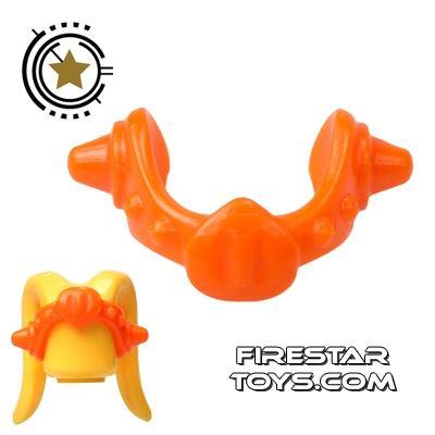 Arealight Head Accessories - Medallion Coronet - Orange