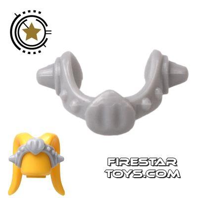 Arealight Head Accessories - Medallion Coronet - Gray