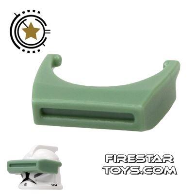 Arealight - Phase I Binocular Visor - Sand Green