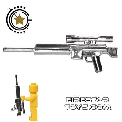 Brickarms - Precision Sniper Rifle - Chrome Silver