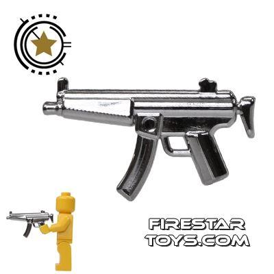 Brickarms - Combat SMG - Chrome Silver