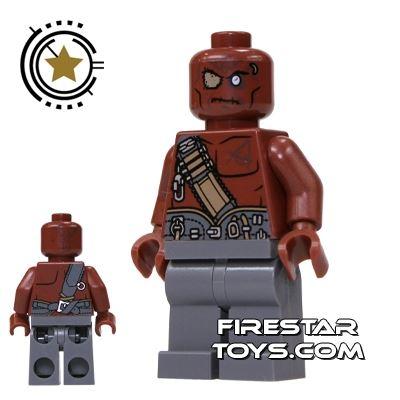 LEGO Pirates Of The Caribbean Mini Figure - Gunner Zombie