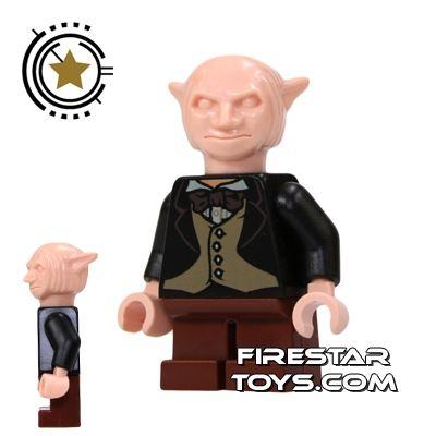 LEGO Harry Potter Mini Figure -  Goblin - Brown Legs