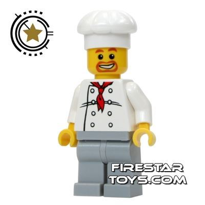 LEGO City Mini Figure - Master Chef