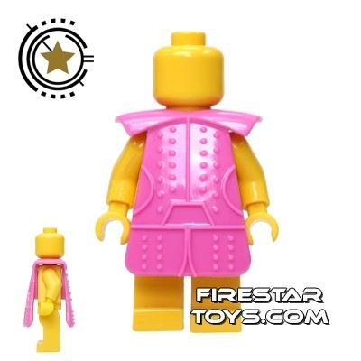 BrickTW - Ching Dynasty Armour - Pink