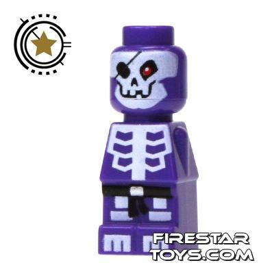 LEGO Games Microfig - Ninjago Skeleton - Purple