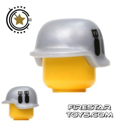 BrickForge - Military Helmet - Truesilver - Bombsquad