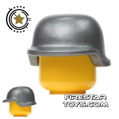 BrickForge - Military Helmet - Silver