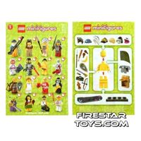 LEGO - Minifigures Series 3 Collectable Leaflet