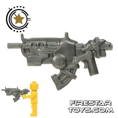 BrickWarriors - Ground Dweller  Battle Rifle - Steel
