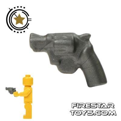 BrickWarriors - Snub Nose Revolver - Steel
