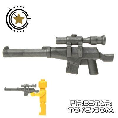 BrickWarriors - Suppressed Sniper Rifle - Steel