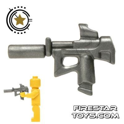 BrickWarriors - Special Forces SMG - Steel