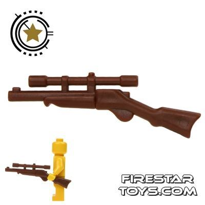 BrickWarriors - Buffalo Rifle - Brown