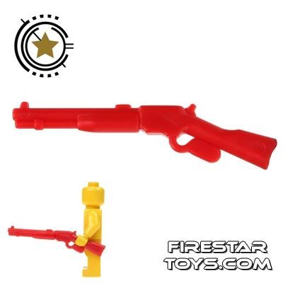BrickWarriors - Repeater Rifle - Red