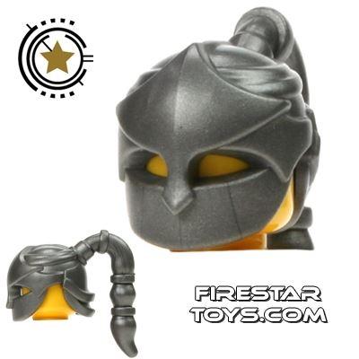 BrickWarriors - Assassin Mask - Steel