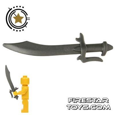 BrickWarriors - Scimitar - Steel