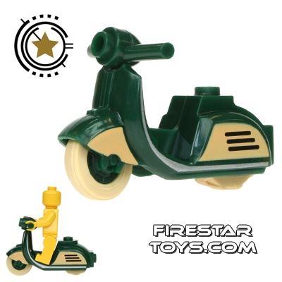BrickForge - Retro Scooter - Dark Green