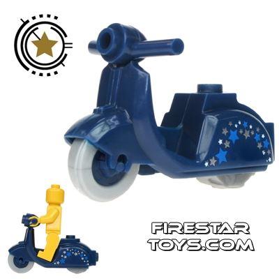 BrickForge - Dark Blue Scooter - Stars