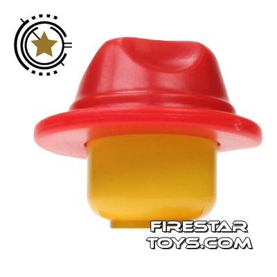 BrickWarriors - Fedora - Red
