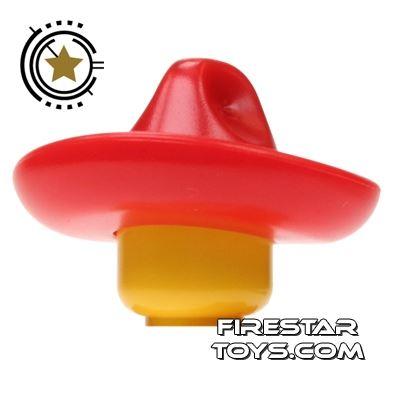 BrickWarriors - Sombrero - Red