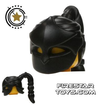 BrickWarriors - Assassin Mask - Black