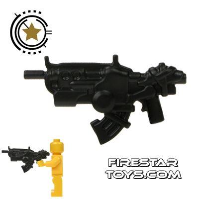 BrickWarriors - Ground Dweller  Battle Rifle - Black