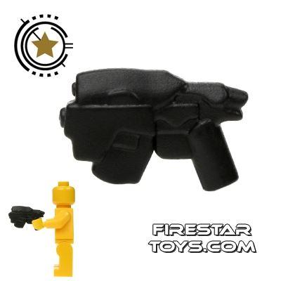 BrickWarriors - Head Hunter Pistol - Black