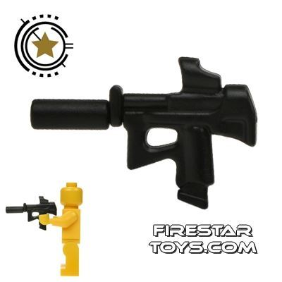 BrickWarriors - Special Forces SMG - Black
