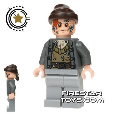 LEGO Pirates Of The Caribbean Mini Figure - Bootstrap Bill